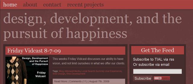 Arron I Website