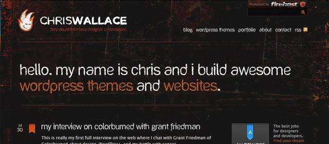 Chris Wallace Website