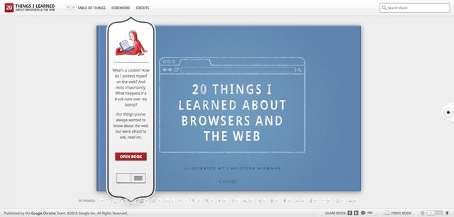 20 Things I Learned Screenshot